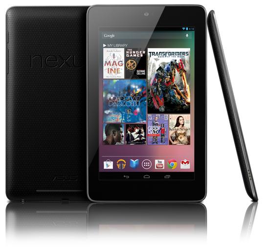 Avec la Nexus 7, Google veut prendre le contrôle du marché des tablettes sous Android