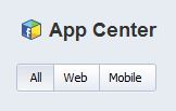 Facebook lance aussi son App Center