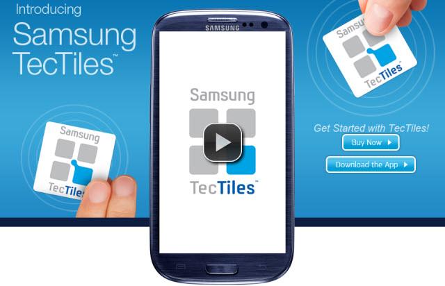 Samsung TecTiles : le NFC au-delà du paiement