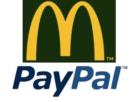 Quand PayPal s'invite chez McDonald's pour tester sa solution de paiement mobile…en France!!!
