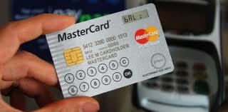 MasterCard Display, une carte bancaire à écran et clavier