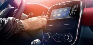 tableau de bord voiture connectée