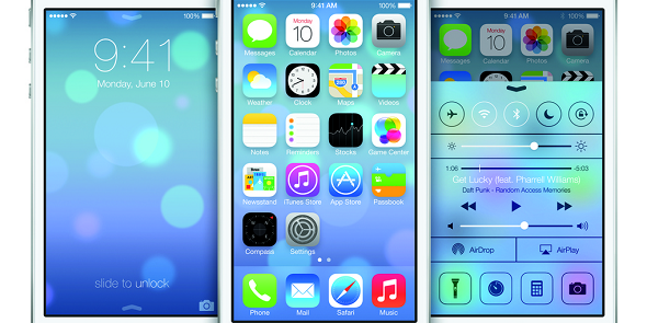 Apple : un iOS 7 à plat