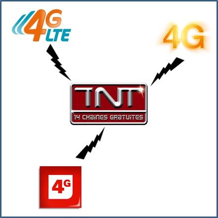 4G ou TNT, il faut choisir !