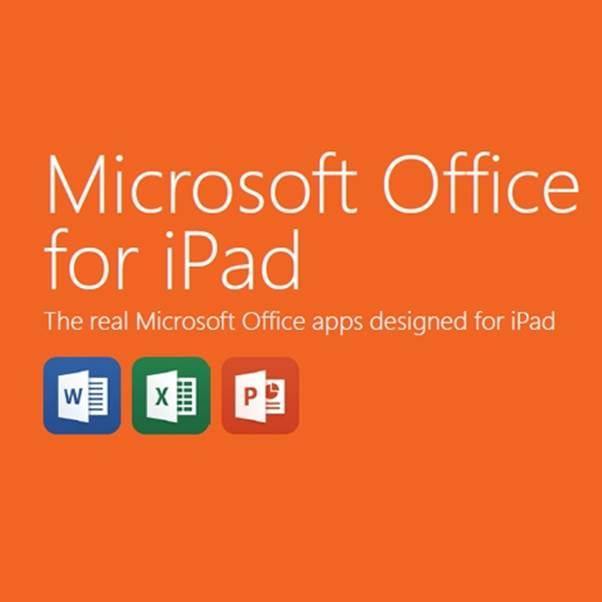 Office sur iPad, mieux vaut tard que jamais !