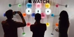 L'Apple Watch chez Colette, Paris - Crédits Reuters