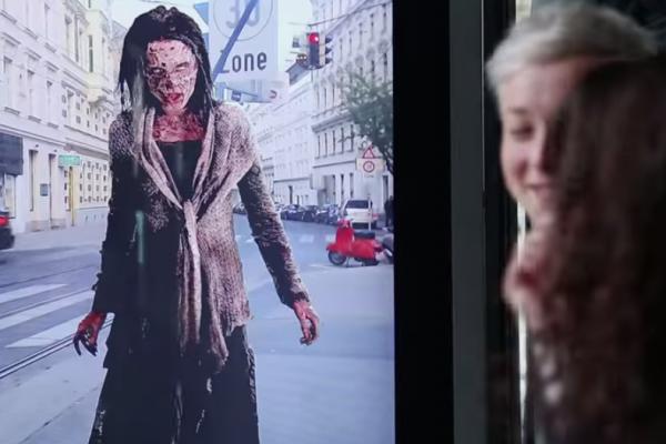 Des zombies à Vienne grâce à la réalité augmentée