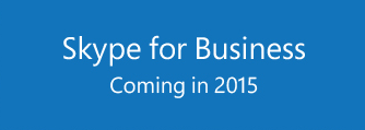 Adieu Lync, bienvenue Skype for Business !