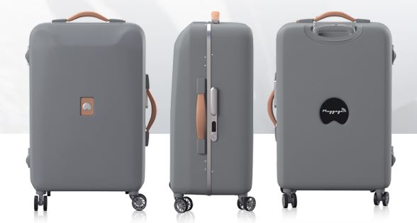 Pluggage, valise connectée by Delsey