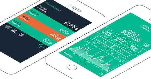 Robinhood, l'application de trading nouvelle génération, prépare son lancement sur l'Appstore
