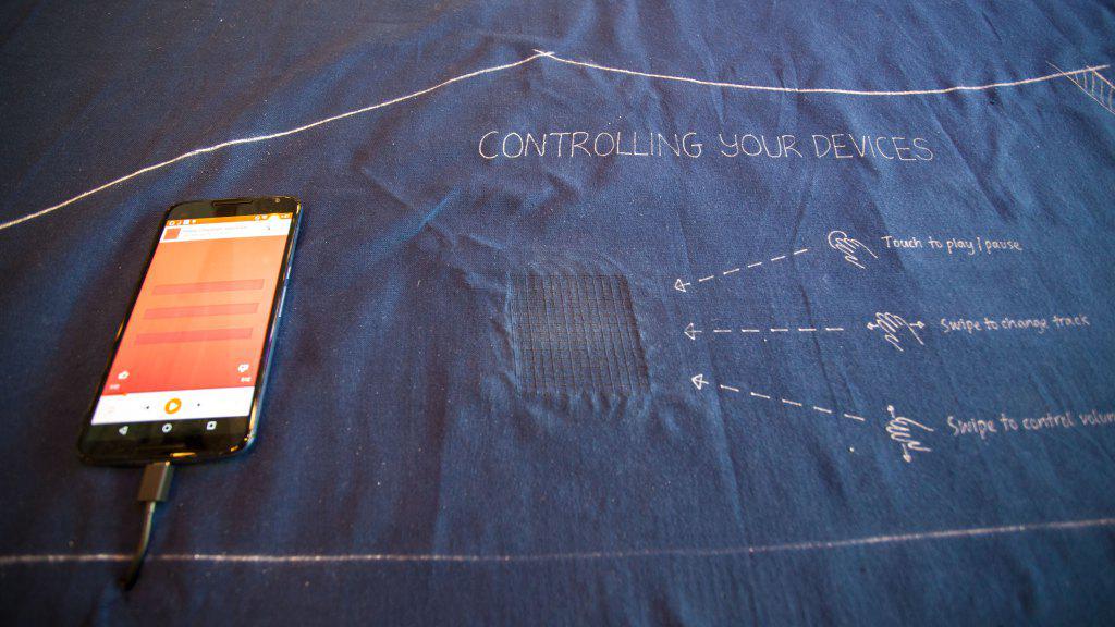 Controlez votre smartphone avec votre jean