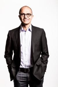 Satya nadella, CEO de Microsoft depuis Février 2014.