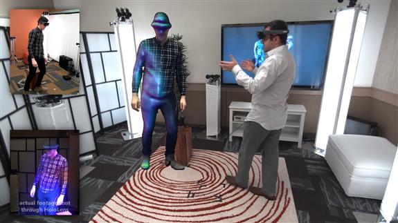 L'Holoportation, ou quand Microsoft réinvente la communication grâce à des hologrammes