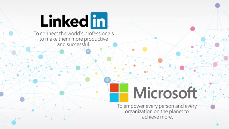 Microsoft s'offre LinkedIn pour un montant record
