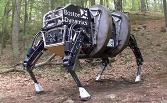 Quadrupede Boston Dynamics