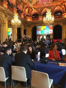 Speed Meeting lors du Hacking de l'Hotel de Ville 2017