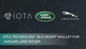 IOTA Foundation Jaguar Land Rover Partnership