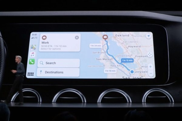 Apple CarPlay sur iOS 13
