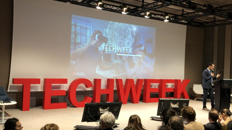 TechWeekSG 2019 – Les nouvelles technologies au cœur de la mutation du secteur bancaire (1/2)