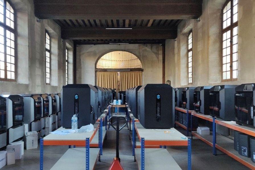 Le parc d'imprimantes 3D dans l'abbaye de Port Royal dont s'est doté l'AP-HP