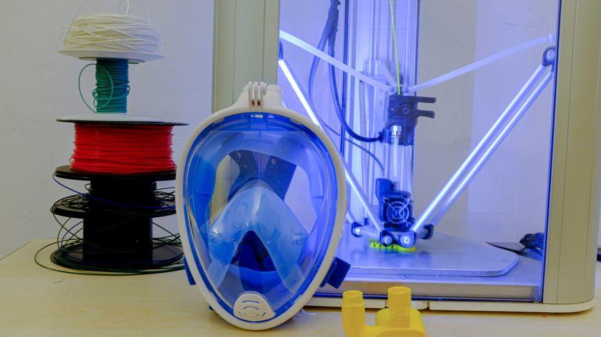 Masques Décathlon Easybreath transformé d'urgence en respirateurs d'hôpitaux
